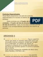 VB-Trabajar Con Directorios y Archivos