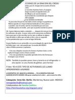 Lapbook Credo - Niños 7 a 9