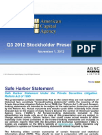AGNC Shareholder Presentation Q3 2012