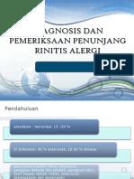 Presentasi Alergi Imunologi, Rhinitis Alergi Dan Pem.penunjang