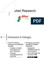Kelloggs Market Research