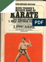 Bruce Tegner's Complete Book of Karate - 1966