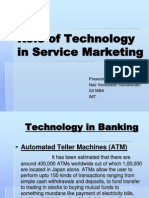 Role of Technology in Service Marketing
