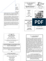 St Felix RC Parish Newsletter - wk 3 2009