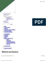 Matrix Mechanics - Enotes.com Reference