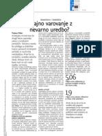 Dnevnik - Varovanje kmetijskih zemljišč - 15.11.2012