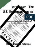 Documents from the U.S. Espionage Den volume 69