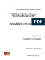 MANUAL Prácticas Microbiología y Parasitología