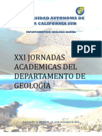 Xxi Jornadas Academicas Geologia