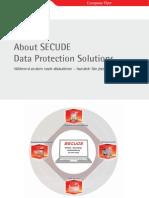 SECUDE Flyer AboutSecude de Online