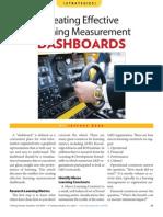 Creating Effective Learning Management Dashboards (Nov 09)