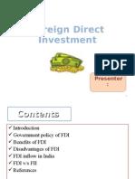 FDI ppt
