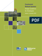 Melbourne Water Wetland Design Guide