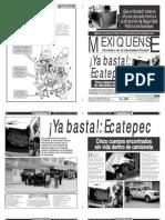 Versión impresa del periódico El mexiquense 15 de noviembre 2012
