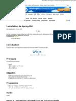 Tutorial Spring _ Installation de Spring IDE