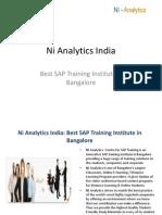 SAP Training in Bangalore