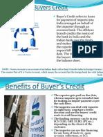 Buyer's Credit