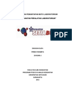 Perawatan Dan Pemeliharaan Peralatan Laboratorium P,MUTU