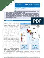 OCHA Rakhine Situation Report12 2012-11-06
