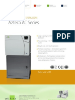 Medium Steam Sterilizers - Azteca AC Series PDF
