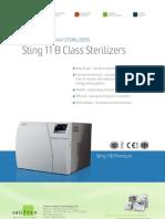 Bench Top Steam Sterilizers - Sting 11B Class Sterilizers PDF