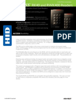 Card Reader with Keypad (RK40)