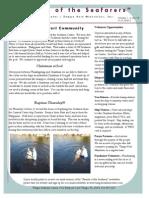 Tampa Seafarers Center November Newsletter