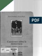 Cuestiones Sobre La Democracia (Libro Completo)