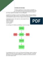 Metodologia de La Planificacion Estrategica