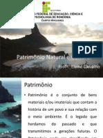 Patrimônio Natural e Cultural