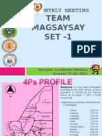Bi Monthly Meeting Magsaysay