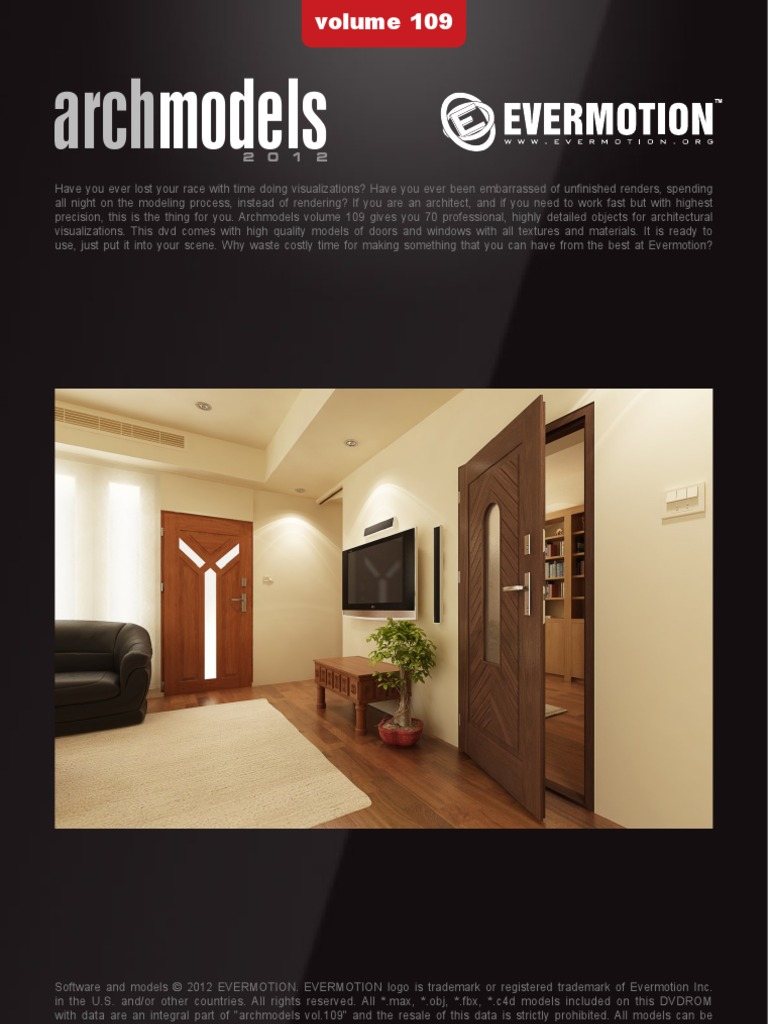 Archmodels Vol 109 Doors & Windows | Rendering (Computer Graphics