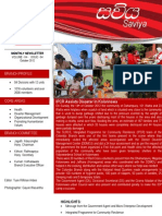 The Sri Lanka Red Cross Society - Colombo Branch News Letter for the month of OCTOBER 2012 is now available for your'll to read!