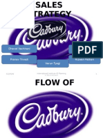 sales strategy of cadbury