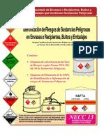 Identificacion de Riesgos de Sustancias Peligrosas en Envases y Recipientes, Bultos y Embalajes