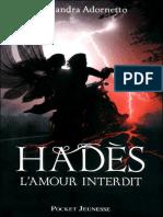 L'Amour Interdit T2 - Hades - Alexandra Adornetto