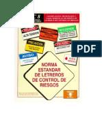 Norma Estandar de Letreros de Control de Riesgos