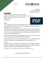 Aparcabicis en la Escuela de Artes y Oficios (20/2012)