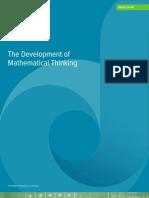 DreamBox the Development of Mathematical Thinking