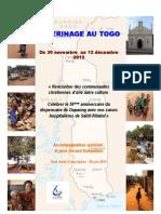 Programme Togo 30 Nov-12 Dec