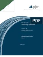 Pjm Operating Guide