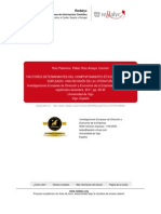 FACTORES DETERMINANTES DEL COMPORTAMIENTO ÉTICO
