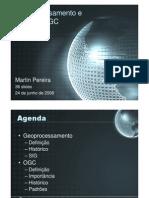 Geoprocessamento e Padrões OGC