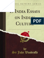 Is India Essays on Indian Culture