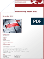 Brochure & Order Form_Global E-Commerce Delivery Report 2012_by yStats.com