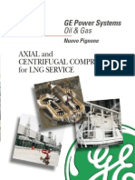 Axial & Centrifugal Compressor for LNG Services - GE