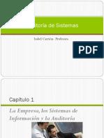 Capítulo 1 La Empresa, sistemas de infromacion y auditoria