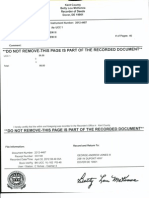 Recorded Affidavit of Foreign Political Status-Notarized-Authenticated