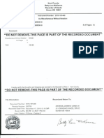 Recorded Hold Harmless and Indemnity Agreement GAJ-191089-HHIA-Notarized-Authenticated