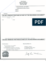 Recorded Indemnity Bond Notarized Authenticated